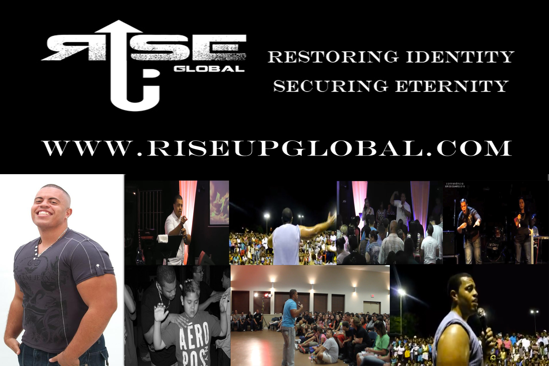 Evangelist Damian Martinez | Rise Up Global Ministries | i AM Remnant Conferences