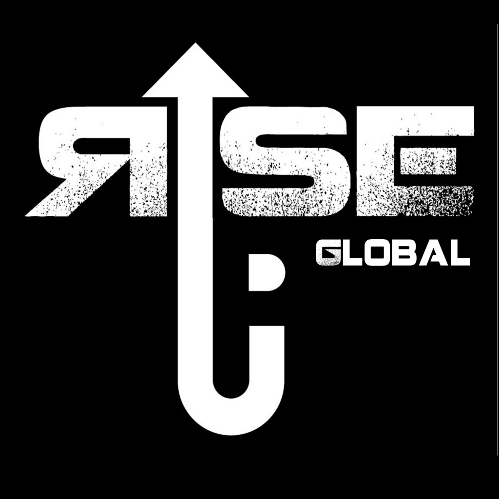 rise up global logo-white on black bckd